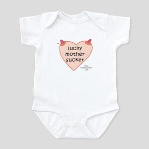 Luckymothersucker LC Infant Bodysuit