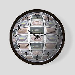 Mail Art Wall Clock