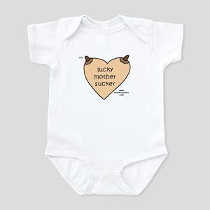 Luckymothersucker MC Infant Bodysuit