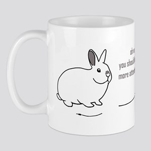 oh well... (bunnies chew cabl Mug