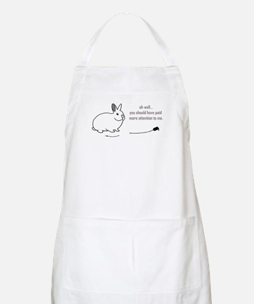 oh well... (bunnies chew cabl Apron