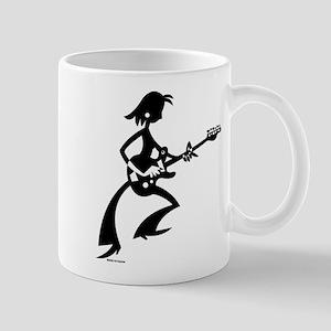Guitargirl Mug Mugs