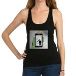Brains - a Zombie Smart Phone S Racerback Tank Top