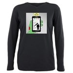 Brains - a Zombie Smart Plus Size Long Sleeve Tee