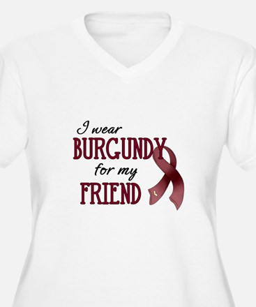 Wear Burgundy - Friend T-Shirt