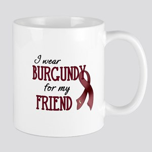Wear Burgundy - Friend Mug