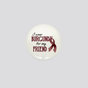 Wear Burgundy - Friend Mini Button