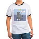Cat Attitude Ringer T