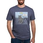 Cat Attitude Mens Tri-blend T-Shirt