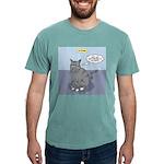 Cat Attitude Mens Comfort Colors® Shirt