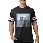 Cat Attitude Mens Football Shirt