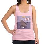 Cat Attitude Racerback Tank Top