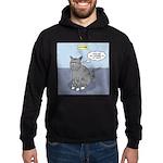 Cat Attitude Hoodie (dark)