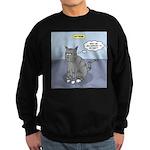 Cat Attitude Sweatshirt (dark)