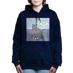 Cat Attitude Women's Hooded Sweatshirt