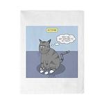 Cat Attitude Twin Duvet Cover
