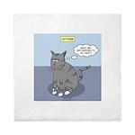 Cat Attitude Queen Duvet