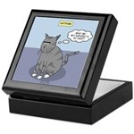 Cat Attitude Keepsake Box