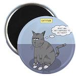 Cat Attitude Magnet
