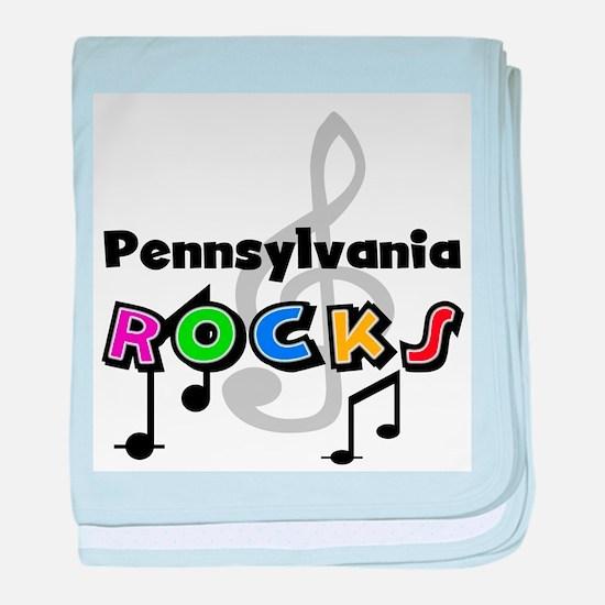 Pennsylvania Rocks Infant Blanket