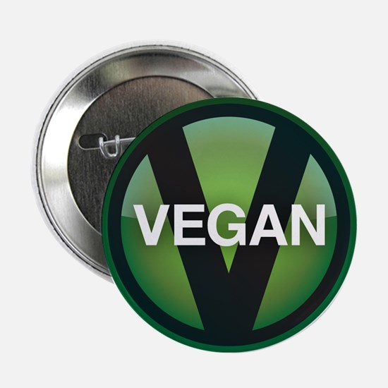 "Vegan 2.25"" Button"