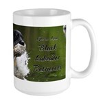 Black Labrador Retrievers Large Mug