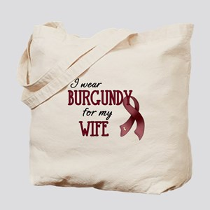 Wear Burgundy - Wife Tote Bag