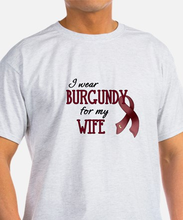 Wear Burgundy - Wife T-Shirt
