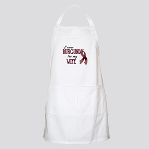 Wear Burgundy - Wife Apron