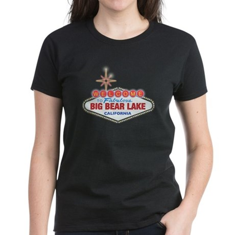 Fabulous Big Bear Lake Women's Dark T-Shirt
