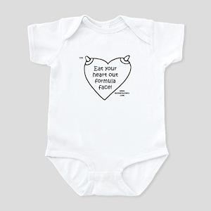 EatYourHeartOut BW Infant Bodysuit