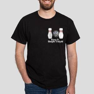 Keep It Simple Stupid Logo 3 Dark T-Shirt Design F