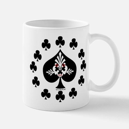 Poker Spade Design Mug