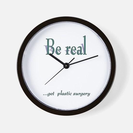 Get Plastic Surgery Wall Clock