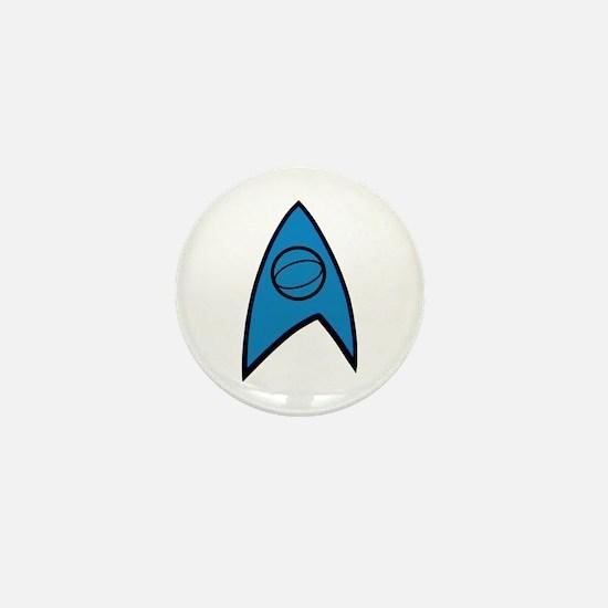 Full Science Insignia Mini Button