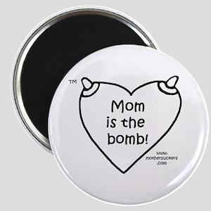 Luckymothersucker BW Magnet