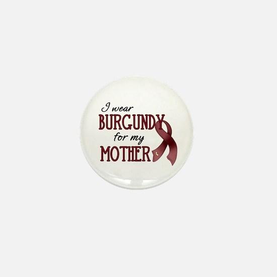 Wear Burgundy - Mother Mini Button