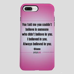 Pretty in Pink: I Believe iPhone 7 Plus Tough Case