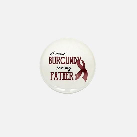Wear Burgundy - Father Mini Button