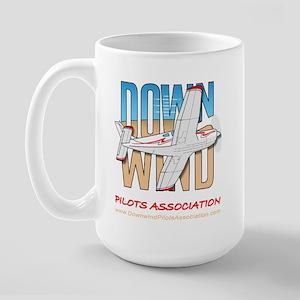 Downwind Pilots Association Large Mug