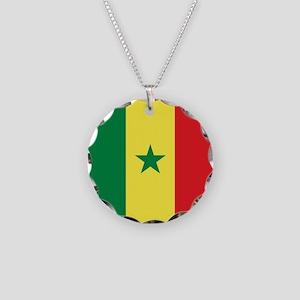 Flag of Senegal Necklace