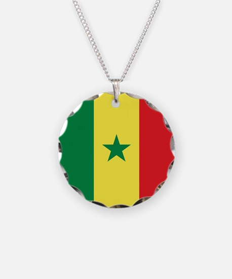 Flag of Senegal Necklace