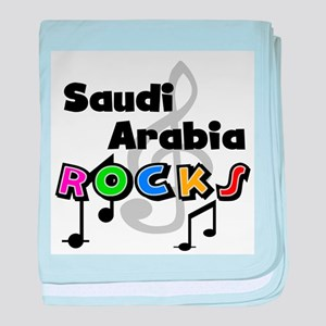 Saudi Arabia Rocks Infant Blanket