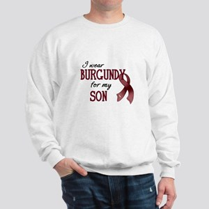 Wear Burgundy - Son Sweatshirt