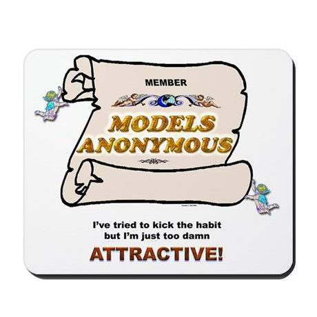 """Attractive"" Mousepad"