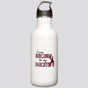 Wear Burgundy - Daughter Stainless Water Bottle 1.