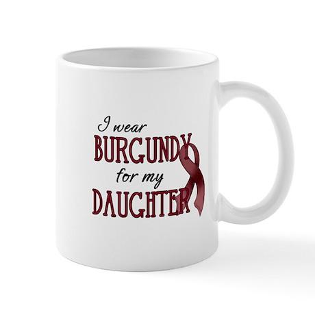 Wear Burgundy - Daughter Mug