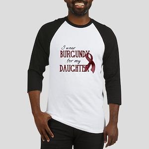 Wear Burgundy - Daughter Baseball Jersey