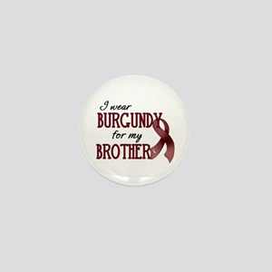 Wear Burgundy - Brother Mini Button