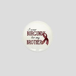 Wear Burgundy - Brother Mini Button